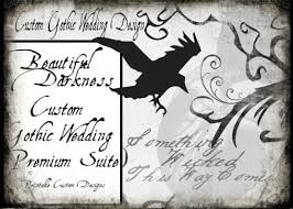 105 best gothic wedding images on pinterest gothic wedding Gothic Wedding Invitations Templates gothic wedding invitations the wedding specialists gothic wedding invitations templates