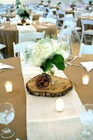 round table centerpieces rustic wedding without flowers best ideas for tables