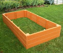 garden beds. raised bed garden boxes recycled plastic 4 x 8 165 eartheasy beds