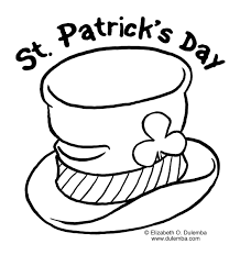 Small Picture st patricks day coloring page crafts Pinterest Saints Craft