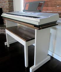 custom keyboard stand and bench steady by keenancustoms 350 pianist keyboard