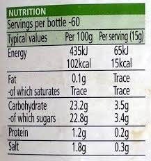 heinz tomato ketchup nutrition facts heinz tomato ketchup nutrition facts