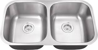 Impressive Double Bowl Stainless Steel Sink Undermount Kitchen Double Basin Stainless Steel Kitchen Sink