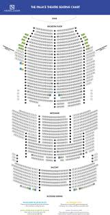 Palace Theatre Seating Chart Theatre Theater Seating Palace