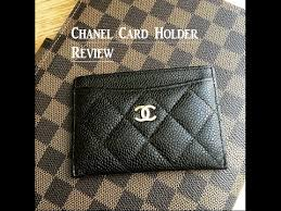 chanel card holder. chanel card holder review! t