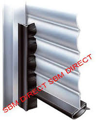 image is loading clip on draught excluders roller shutter door brush