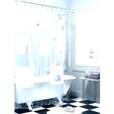 clear shower curtain with design shower liner with pockets clear shower liner curtain with design plastic