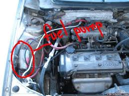 Engine Check' light ON & Fuel mixture - 4EFE - Mechanical/Electrical ...