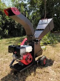 garden mulcher. Gas Powered Garden Mulcher A