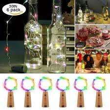 Decorative Wine Bottles With Lights 100LED 100in 100Pcs Cork Lights for Wine Bottles Bottle Lights Color 94