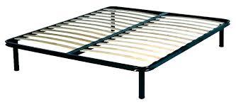 queen size metal platform bed frame with wood slats – serafimcruz.info