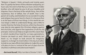 Bertrand Russell Why I Am Not A Christian Quotes Best of Bertrand Russell Quote Christianity Quote Number 24 Picture
