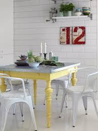 Colorful Dining Room Tables Interesting Decorating Design