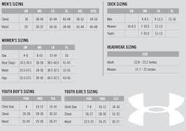 Under Armour Size Chart Canada Under Armour Softball Pants Size Chart