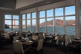 San Francisco Waterfront Seafood Restaurant Dining With A
