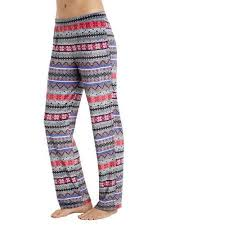Climate Right By Cuddl Duds Womens Pajama Velour Sleep Pant