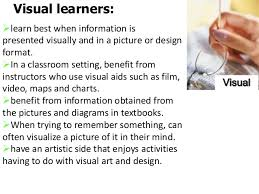 leveraging your learning style effective study strategies visual visual learners tend to 11