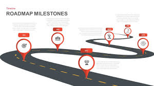 Road Map Powerpoint Milestone Roadmap Powerpoint Template And Keynote Slide
