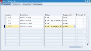 Chart Of Accounts In Oracle Apps R12 Query Oracle Ebs Inventory Define Locators Organization