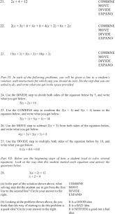 flexibility in problem solving the case of equation