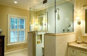 inspiring half glass shower door splash showers half shower door image of half glass shower door
