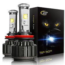 Amazon.com: CougarMotor LED Headlight Bulbs All-in-One Conversion ...