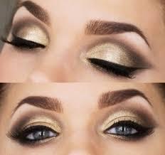 makeup for black evening dress