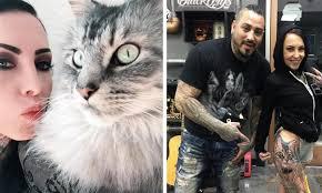 Věčná Vzpomínka Na Vašeho Mazlíčka Unikátní Tetování Z Kočičích