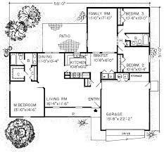 unthinkable 1600 square foot house plan creative design 3 bedroom 2 batroom parking space ranch open