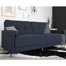 andora sprung linen fabric sofa bed in