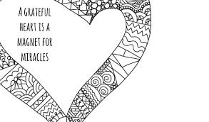 Awesome Mindful Colouring Pages To Help You Start A Gratitude