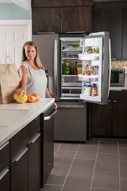 Kitchens With Slate Appliances Consumers Go Gray In A Stylish Waywith Ge Slate Kitchens Ge