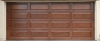 wood garage doorWooden garage door with 4 section 4 panel model  Home Interiors
