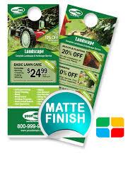 Landscaping Door Hangers La010022 Service Print Ads