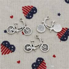 2019 charms bicycle bike 26 18mm pendant tibetan silver pendant for diy necklace bracelets jewelry accessories from juice99 25 39 dhgate com