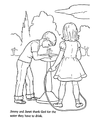 Dont Be A Waster Coloring Page Jesus Walking Water Coloring Page