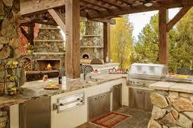 Rustic Outdoor Kitchen Idea Book Lindgren Landscape