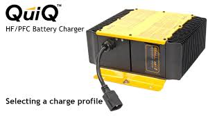 selecting a charge profile on the delta q quiq charger selecting a charge profile on the delta q quiq charger