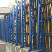 formwork poured concrete walls for