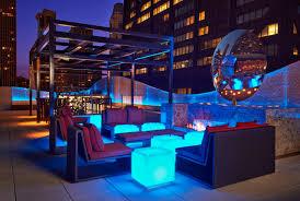 rooftop lighting. rooftop lounge lighting