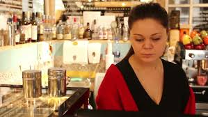Young Woman Working As Cashier Stock Footage Video 100 Royalty Free 1007179726 Shutterstock