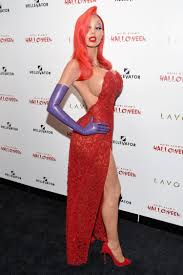 including to portray jessica rabbit during in 2016