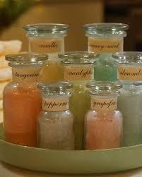 Decorative Jars For Bath Salts Homemade Bath Salts Video Martha Stewart 15