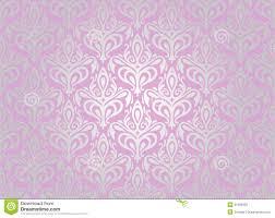 Roze Zilveren Behang Vector Illustratie Illustratie Bestaande Uit