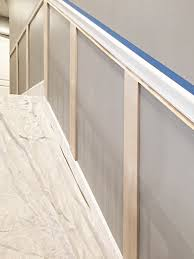staircase molding and chair rail