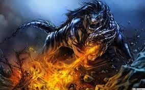 Fantasy Dragon and Lion HD wallpaper ...