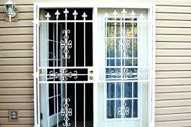 sliding glass door security bar ways to secure a sliding glass door sliding glass door security