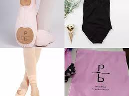 Dance Attire Pink Black Slo