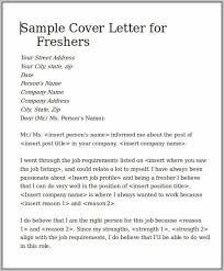 Sample Cover Letter For Resume Software Engineer Fresher Resume