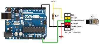 Arduino Weather Station Project Davis Anemometer